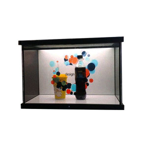 65 inch LCD Transparent touch screen